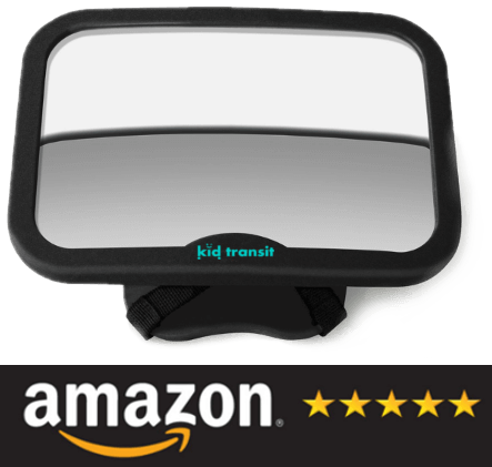 Kid Transit Baby Car Mirror on Amazon