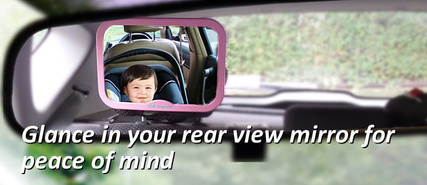 Pink Baby Car Mirror