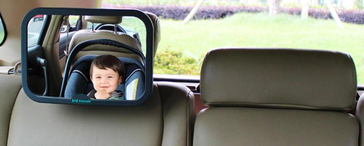 Baby Rear View Car Seat Mirror Large