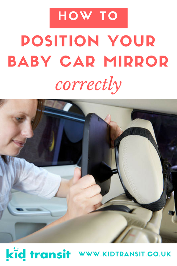 how to position your baby car mirror