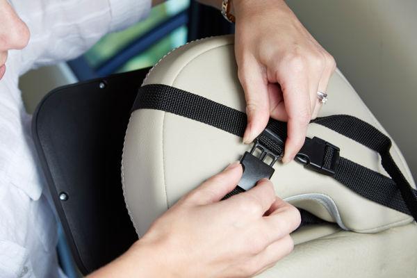 straps baby car mirror