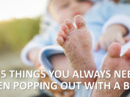Things you always need when popping out with a baby