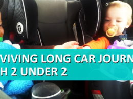 Traveling with 2 under 2