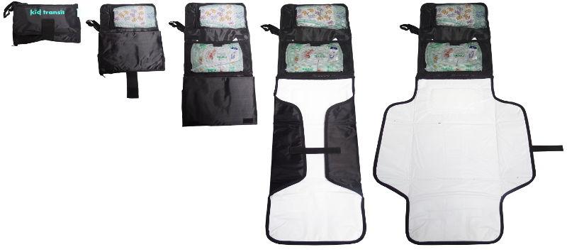 Kid transit travel changing mat and bag