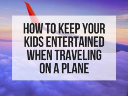 How to keep your kids occupied on a flight