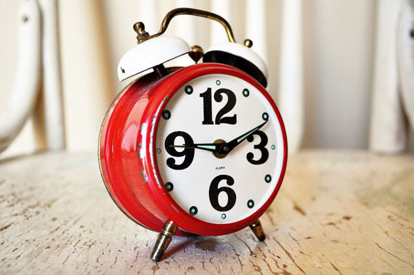 alarm clock school run stress free