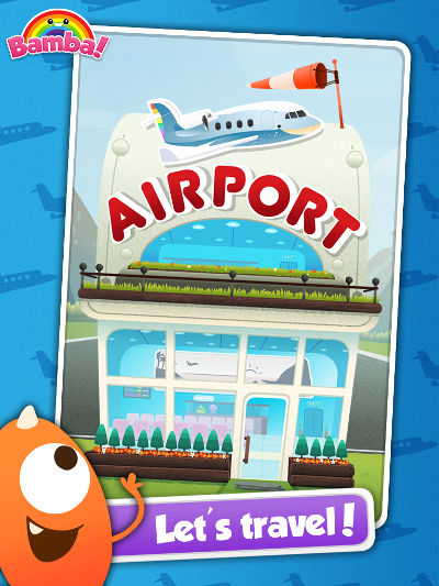 bamba airport kids app