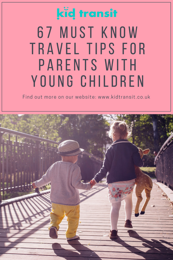 top travel tips children plane train coach car ferry