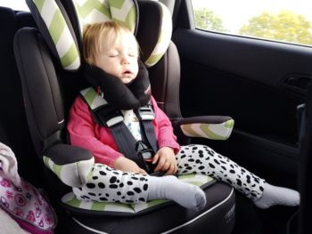 Baby and toddler car seat head support: No more slumping in their child car seat