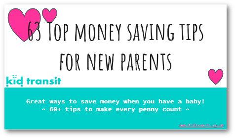 63 Top Money Saving Tips of Parents