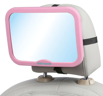 Baby Car Mirror Kid Transit Main Pink