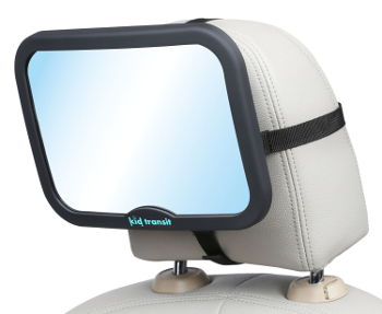 Baby Car Mirror Kid Transit black