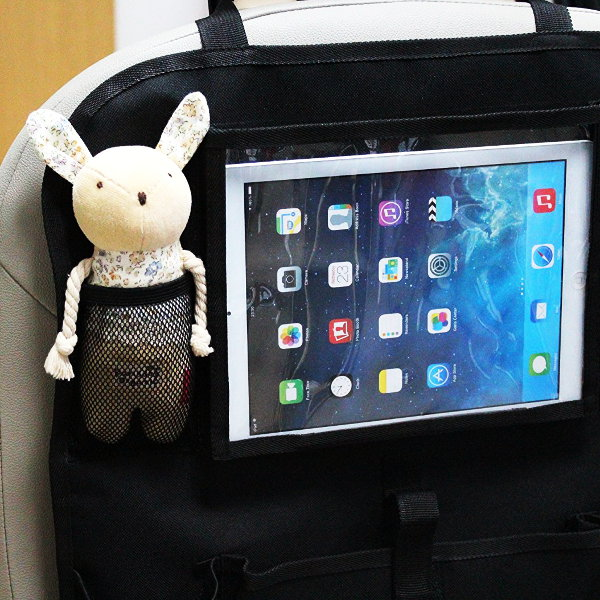 Back Seat Car Organiser with iPad Holder