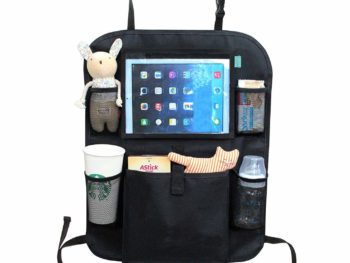 Back Seat Car Organiser with iPad Holder