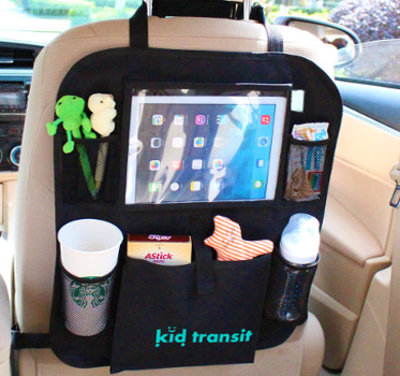 Car Organiser with Tablet Holder