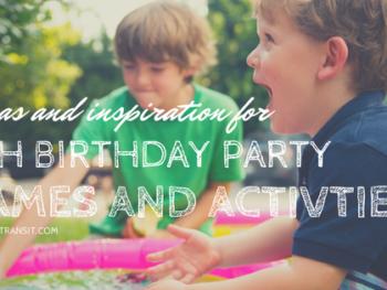 5th Birthday Party Ideas