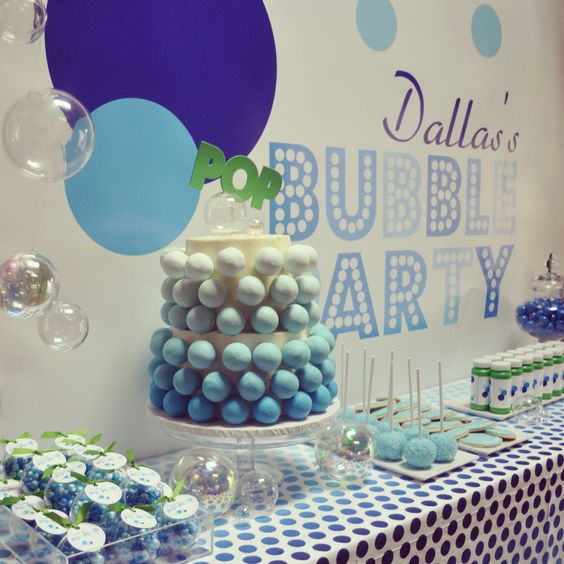 Bubble Themed Party