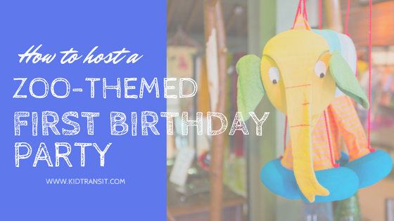 Zoo-themed First Birthday Party