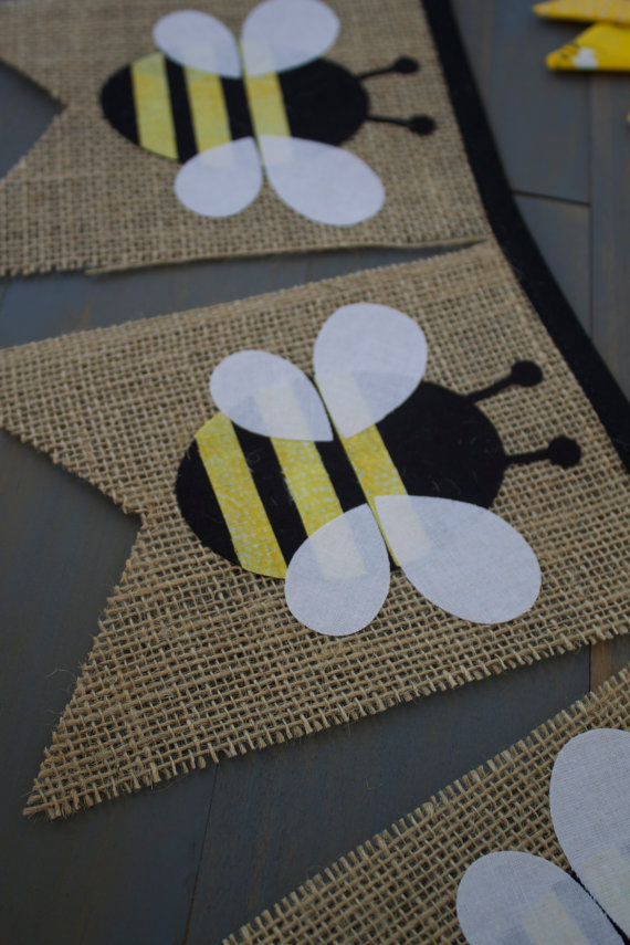 First Birthday Party Theme Bumble Bee
