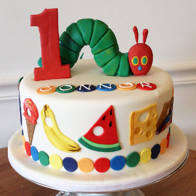 the very hungry caterpillar first birthday party theme