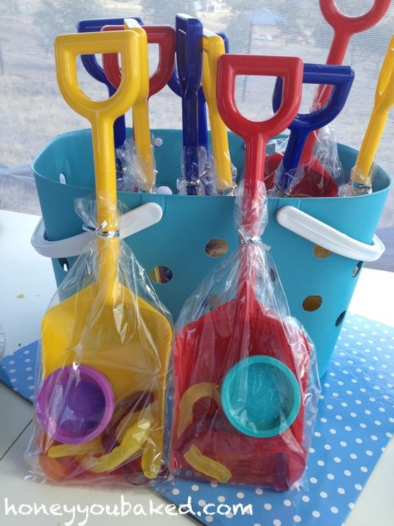 First Birthday Party Beach Party Favours