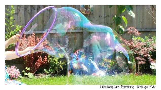 Bubbles Activity Garden Party