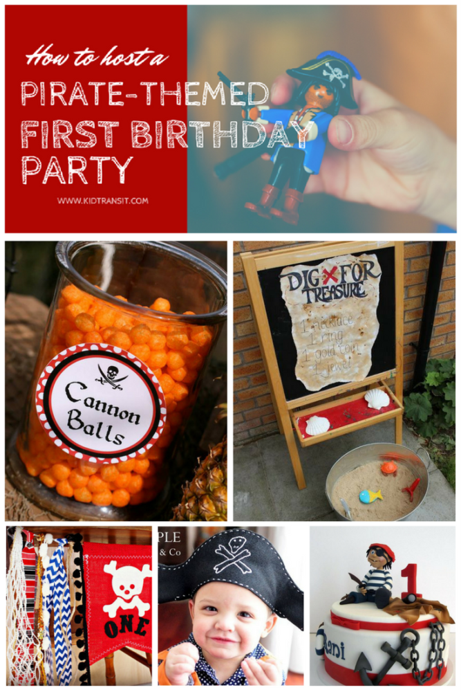 How to Host a Pirate Themed First Birthday Party