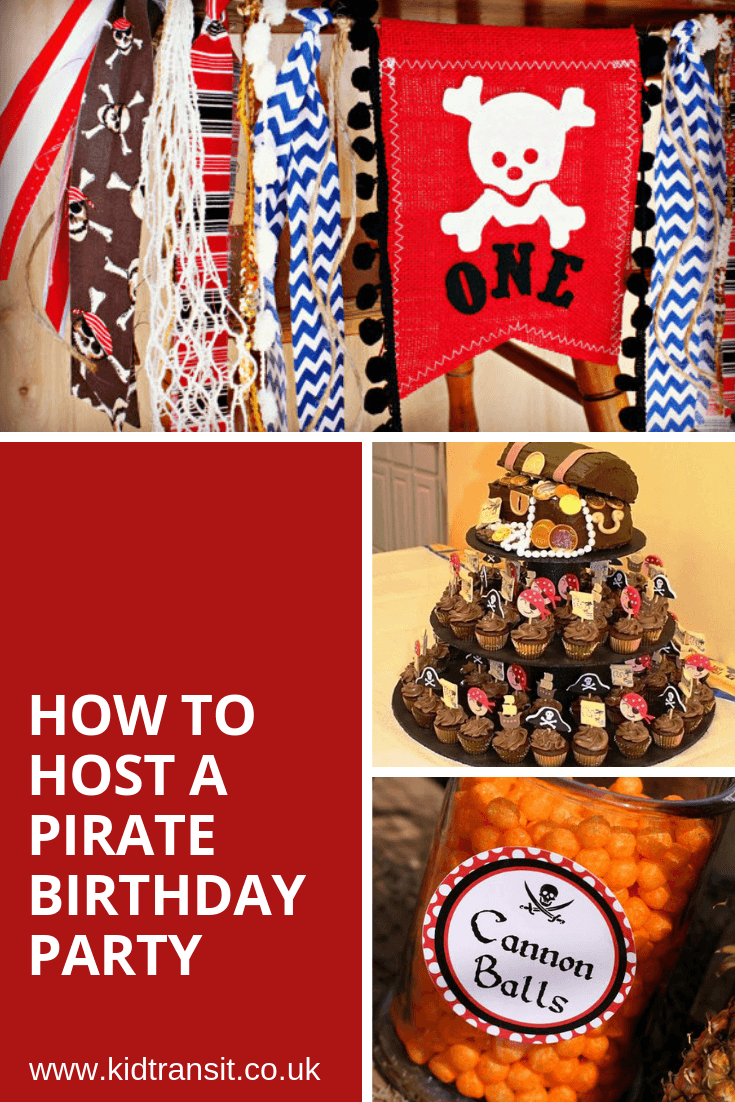 How to host a pirate theme first birthday party