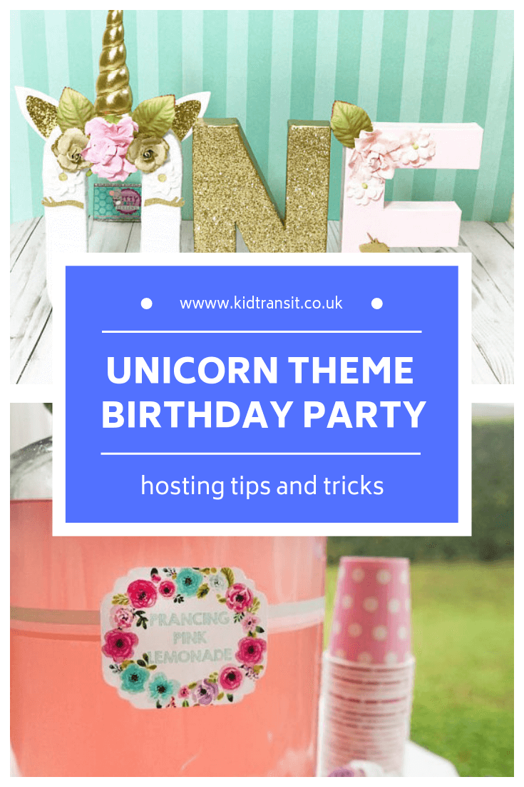 How to host a unicorn theme first birthday party