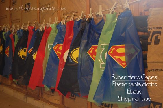 First Birthday Party Superhero Costumes