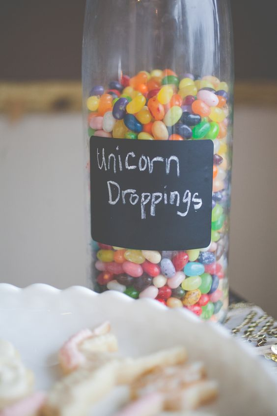 First Birthday Party Unicorn Theme Food