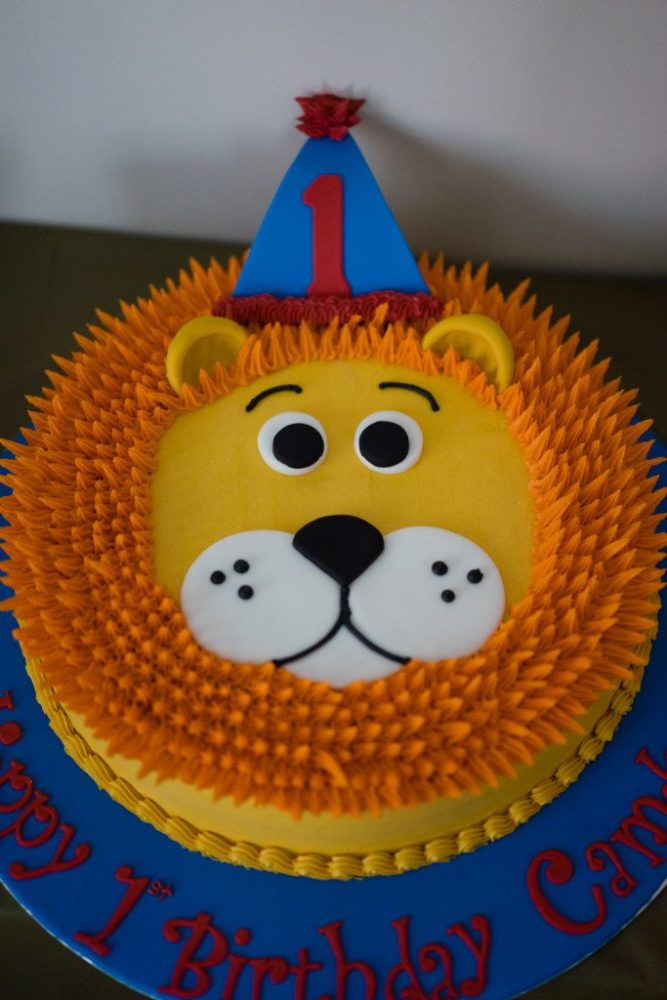 Zoo Themed Cake Ideas For First Birthday Parties Kid Transit