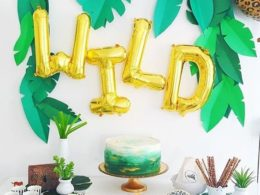 Zoo Themed First Birthday Party Decor 8