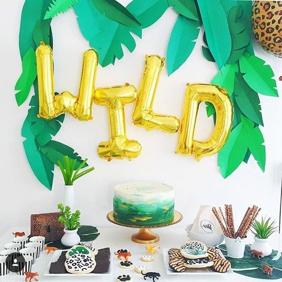 Zoo Themed First Birthday Party Decor Ideas