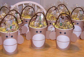 Zoo Themed First Birthday Party Favours