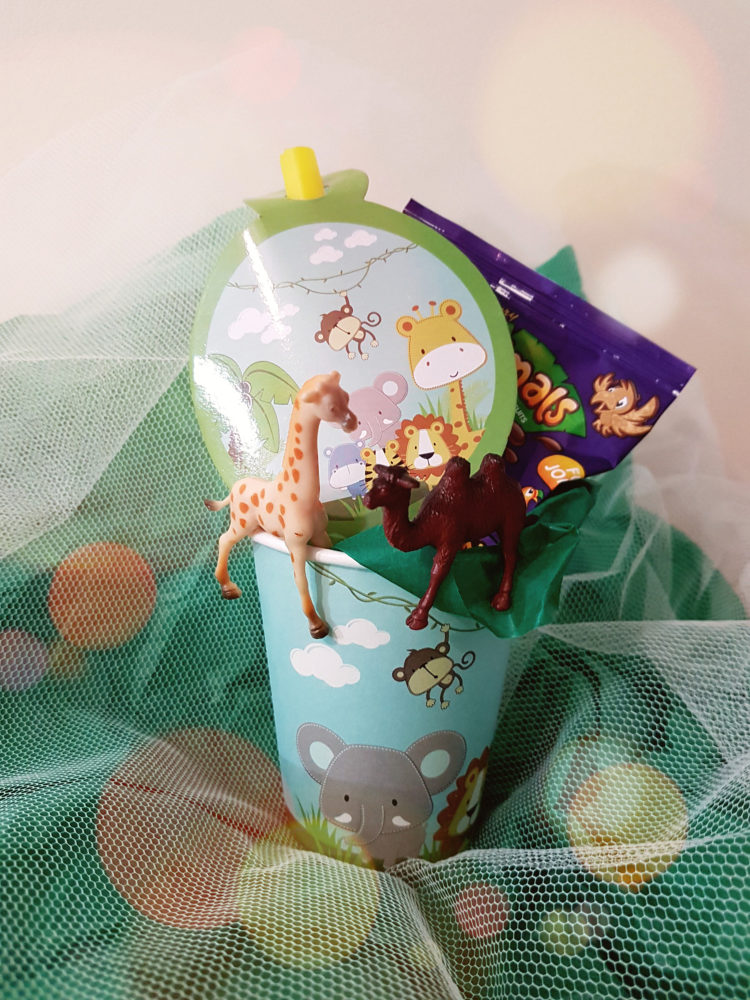 Zoo Themed Party Favours Cups