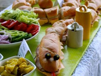 Zoo Themed First Birthday Party Food 10