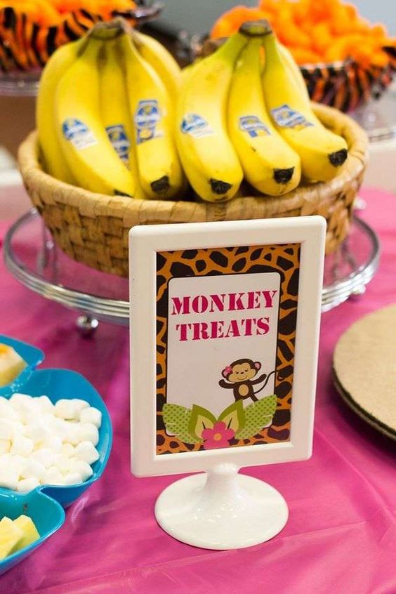 Zoo Themed First Birthday Party Food Ideas