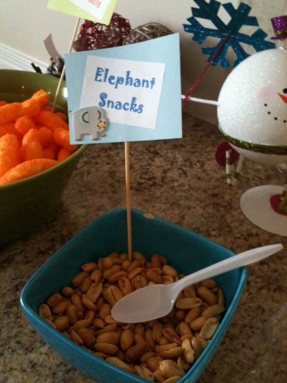 Zoo Themed Food Ideas