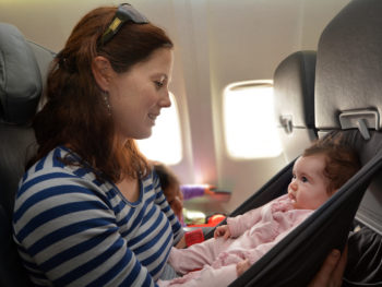 How To Change Your Baby On A Plane