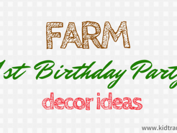 Farm Theme First Birthday Party Ideas