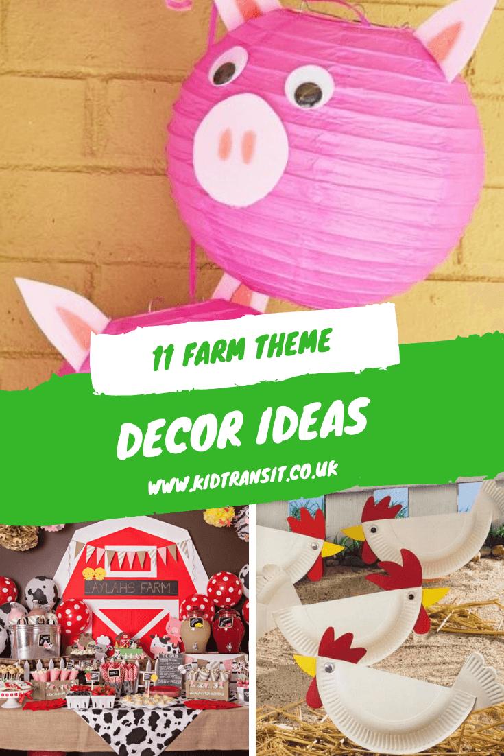 11 decor ideas for a farm theme first birthday party