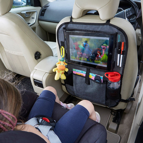 12 inch pro tablet holder and car organiser 1