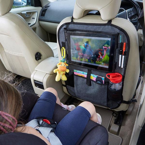 12 inch pro tablet holder and car organiser 1