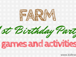 Farm Theme First Birthday Party Ideas