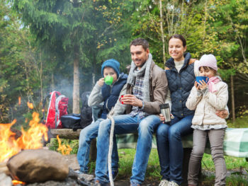 Pack Up Your Young Family For A Late Summer Camping Trip