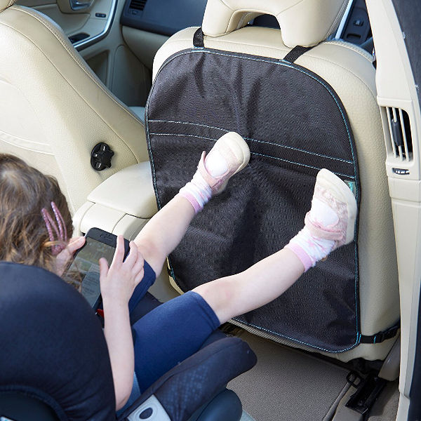 Full Car Seat Protector and Kick Mat Bundle