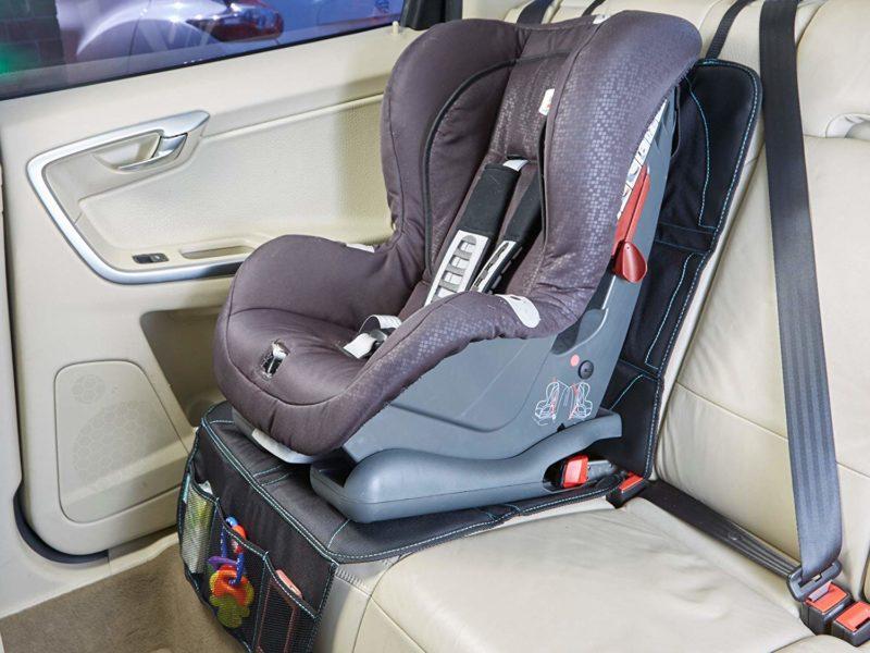 seat protector and kick mat