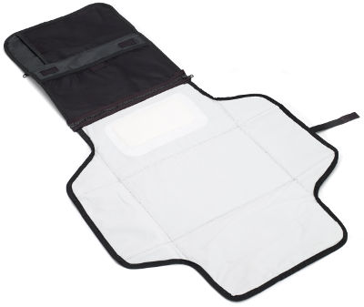travel changing mat open