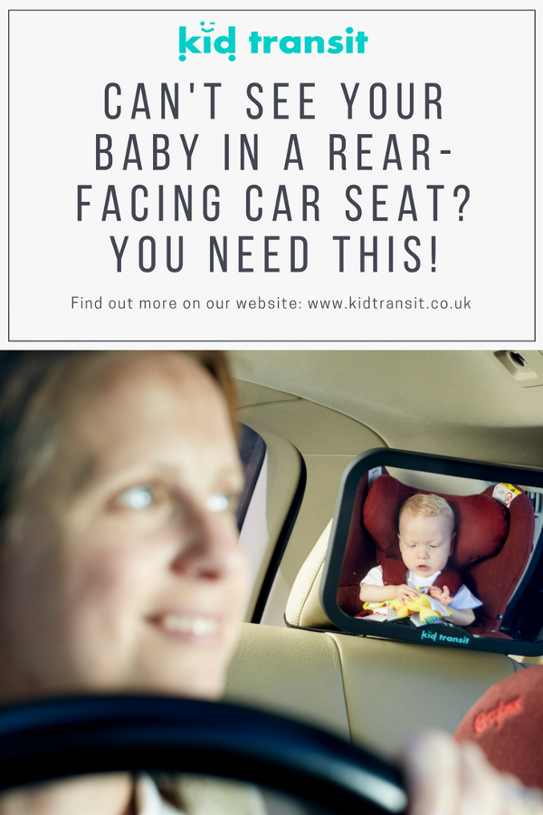 baby car mirror see child rear facing car seat